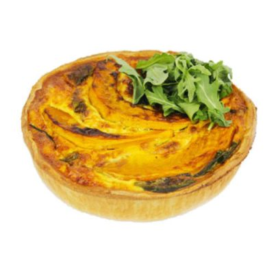 QUICHE, Spinach Pumpkin & Feta